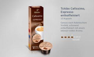 32/100g) Tchibo Cafissimo Espresso 10 Kapseln   NEU