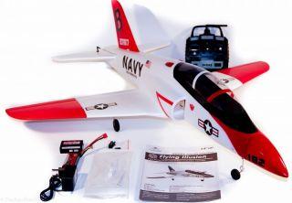 RIESIGER 2,4 Ghz RC JET RedArrow ferngesteuertes Flugzeug BRUSHLESS