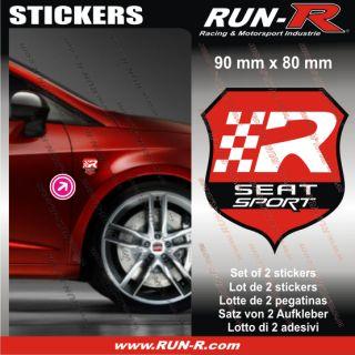 Seat Sport sticker decal   Ibiza Leon Altea Exeo FR   Seat aufkleber