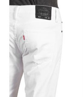 Levis® Mens 511 SKINNY JEANS WHITE ALLE GROESSE   ALL SIZES