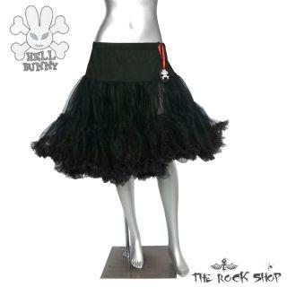Hell Bunny Petticoat   Unterrock Schwarz