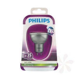 Philips LED Reflektor GU10 4W silber 2.700k