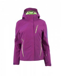 Original Spyder Damen Skijacke Pandora gybsy/green flash/coast