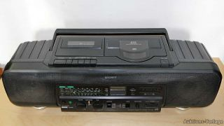 SONY CFD 60L Ghettoblaster Boombox Radiorecorder