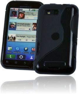 Silikon Rubber Case Motorola Defy+ PLUS MB526 Cover Tasche Schutz