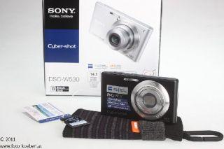 SONY CyberShot DSC   W530 SUPER SET SCHWARZ 4905524751321