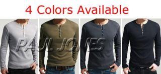 PJ Men's T Shirt Showtime Dexter Kill Shirt Henley Long Sleeve