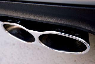 Mercedes Benz S classe w221 S65 AMG Look set Auspuffblenden Endrohre