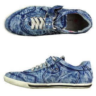 Cipo & Baxx Basic Herren Schuhe Shoe Kapatcha Denim Designer Low