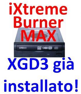 Masterizzatore DVD LiteON iHAS524B Burner Max XGD3 installat ver B