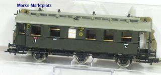 H0 Personenwagen 3./4.Kl. DRG Fleischmann 5871 K NEU OV