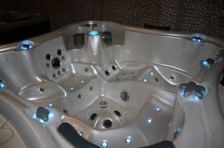 Outdoor Whirlpool, Aussenwhirlpool, Spa, Hot Tub 532