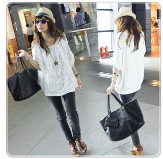 new quality lady girl sexy white summer Off Shoulder Batty Top Blouse
