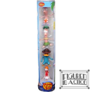 DISNEY Phineas und Ferb Action Figuren Perry, Candace