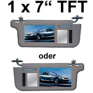KS7D02s 2x 18cm 7 Kopfstützen Monitor mit DVD Player, USB, SD Slot