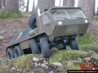Oshkosh 8x8 1/10 Axial Tamiya RC4WD HPI SDI Military Offroad Trial