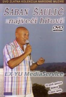 SABAN SAULIC DVD Hiovi Srbija FOLK JEFINO Balade
