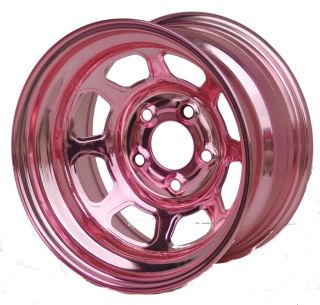 Nascar Steel wheels PINK Chrome 7x15 Felge, Chevrolet , Pontiac, Buick