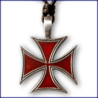EISERNES KREUZ ANHÄNGER TRIBAL CELTIC GOTHIC IRON CROSS TEMPLER