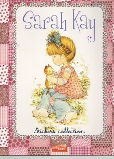 Sarah Kay Sticker Collection/ Leer Album + 2 Tüten Sticker / Neu OVP