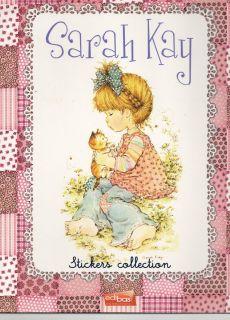 Sarah Kay Sticker Collection/ Leer Album + 2 Tüten Sticker / Neu OVP