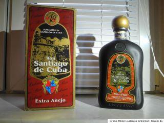 Rum Santiago de Cuba 20 Jahre alt   Ron Cubano 20 Anos years old