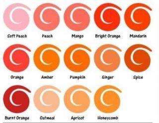 PRO MARKER  AMBER  Letraset PMO567 orange farbton