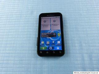 Motorola Defy MB525 Schwarz.Gebraucht Ohne Simlock.TOP OVP 2GB
