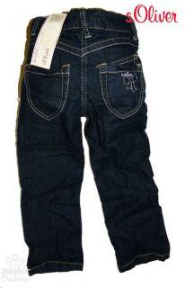 OLIVER süße Jeans / Hose Reg GINNY (128) mit Schleifenstick NEU