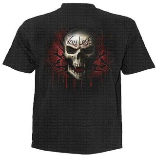 TR260600 Game Over T Shirt Biker Shirt Motorrad