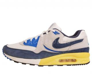 Nike Air Max Light VNTG QS White Midnight Navy Blue Vintage OG Shoes