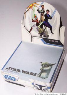 Star Wars Clone Yoda Notizblock Memopad Notizzettel NEU