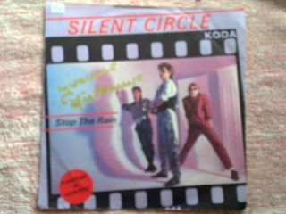 Single   Silent Circle   Stop the Rain INT 110.582