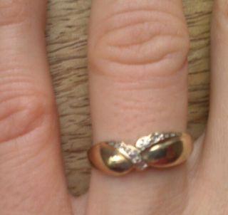 Ring 585 gestempelt Gold Echtgold Goldring Gelbgold Größe 57 (18mm
