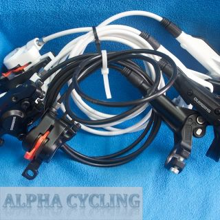 New Shimano BR M445/M446 Hydraulic Disc Brakes Set