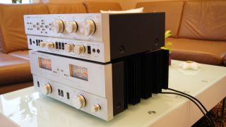 PHILIPS Laboratories 572 und 578 Pre and Power Amplifier Rare