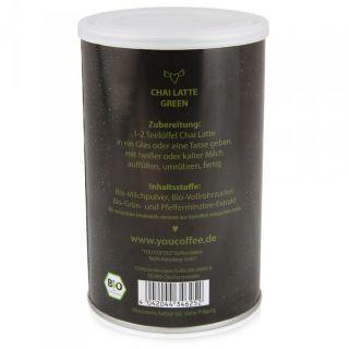 YouCoffee Chai Latte Green Organic   BIO 375g