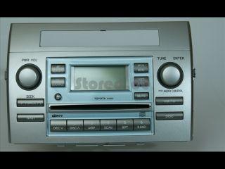TOYOTA Corolla Verso R1 04 09 CD Radio Händler Rechnung