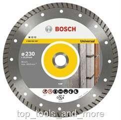 Bosch Diamanttrennscheibe Standard for Universal Turbo 1 2 608 603 249