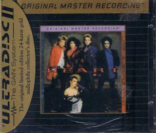 Heart Heart MFSL Gold CD Neu OVP Sealed UDCD 597