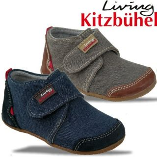 Living Kitzbühel Modell 1911/260 und 590 Baby Hausschuh blau und