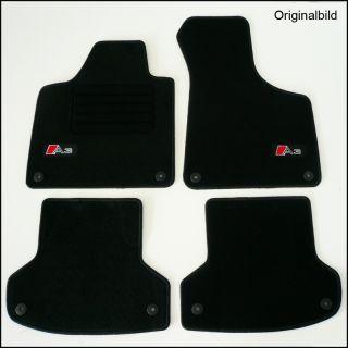 Audi A3 8P Limo +Sportback Bj.2003  Velours Edition Autoteppiche/Auto