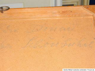FLUSS STUDIE * DIE DONAU BEI SCHÖNBÜHEL * von WALDER PAPST CA 1950