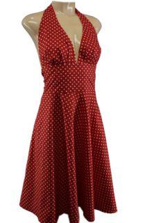 XL 44 Kleid Dress polka Marilyn Retro Vintage Tanzkleid Dots Lindy Hop
