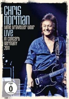 NEU DVD Norman, Chris   Time Traveller Tour Live In Concert Germany 2