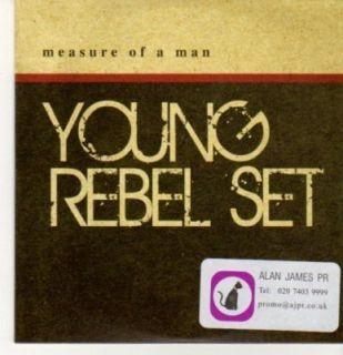 BC615) Young Rebel Set, Measure of a Man   2010 DJ CD
