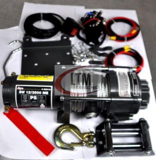 Seilwinde Quad ATV UTV Extremserie 3500 mit 1,59 Tonnen