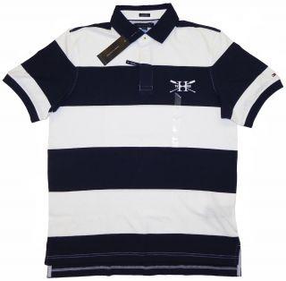 Tommy Hilfiger Poloshirt Polo Shirt darkblue/white Size M XXL