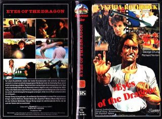 VHS   FSK 18    EYES of the DRAGON  (1987)   Cynthia ROTHROCK