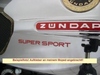 Dekor Tank Aufkleber Zündapp KS 50 SUPER SPORT, 517
